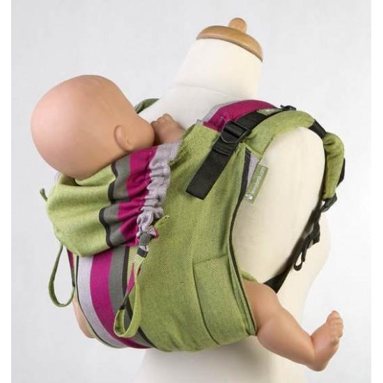 Lenny Lamb SSC Onbu - Toddler - Lime and Khaki