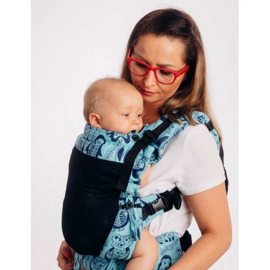 LennyUpGrade Mesh Carrier - Playground- Blue