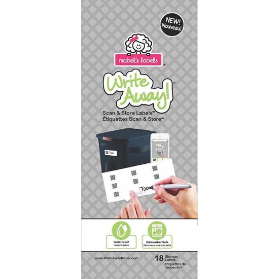 Mabel's Labels Write away! - Etichete auto-adezive Scan&Store